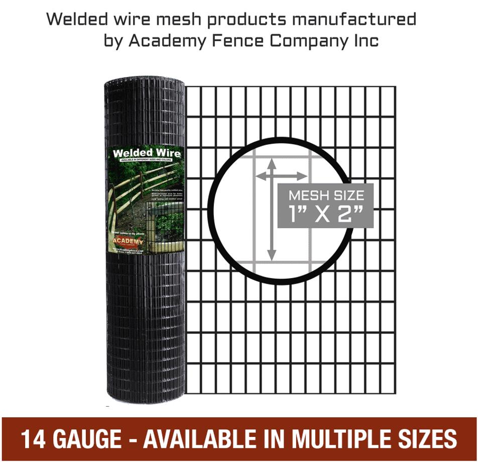 1 X2 14 Gauge Vinyl Coated Welded Wire Welded Wire Fence