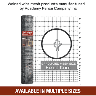 Graduated mesh galvanized deer fence welded wire